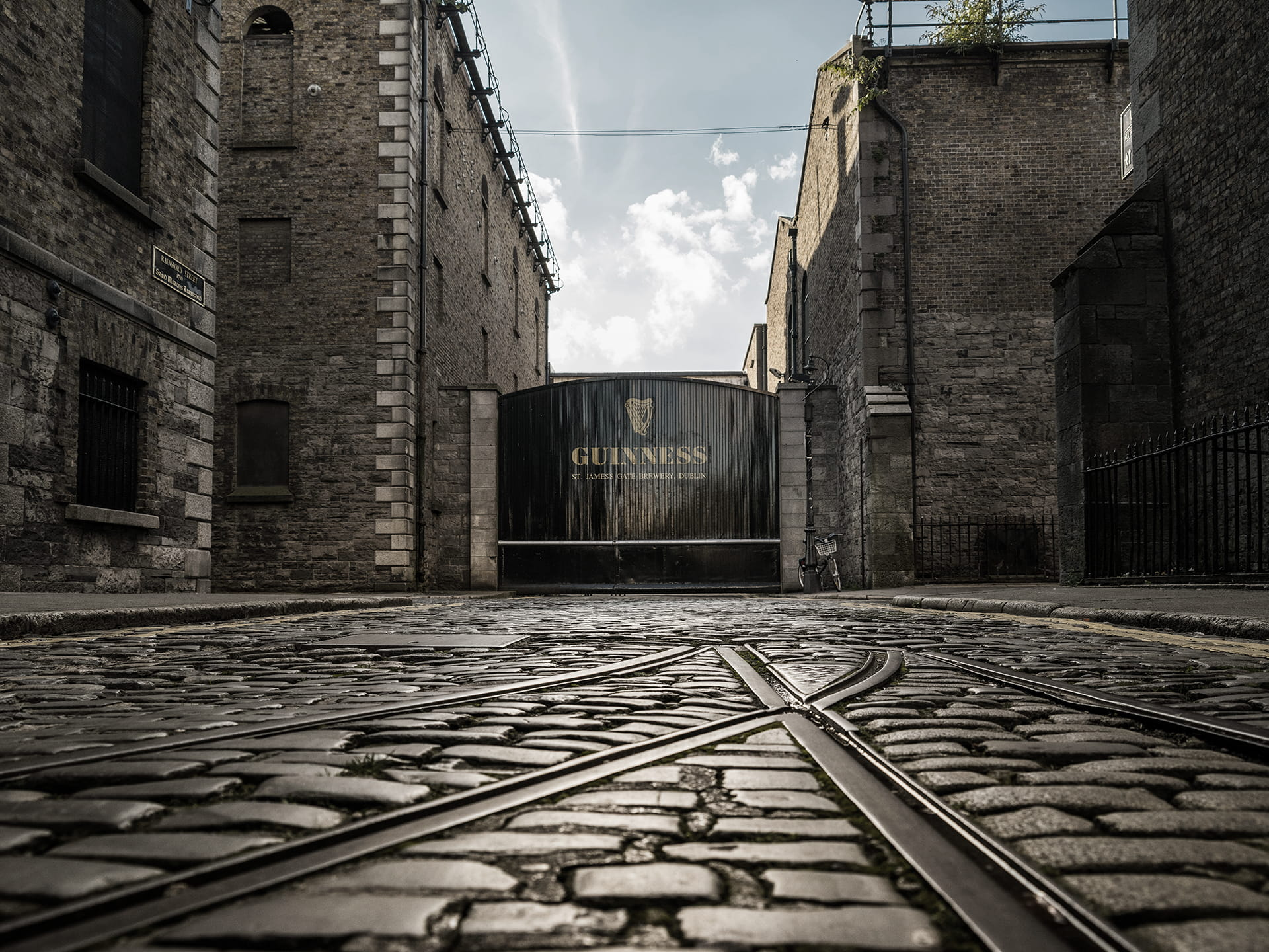 The Guiness Gates at the Guinness Storehouse