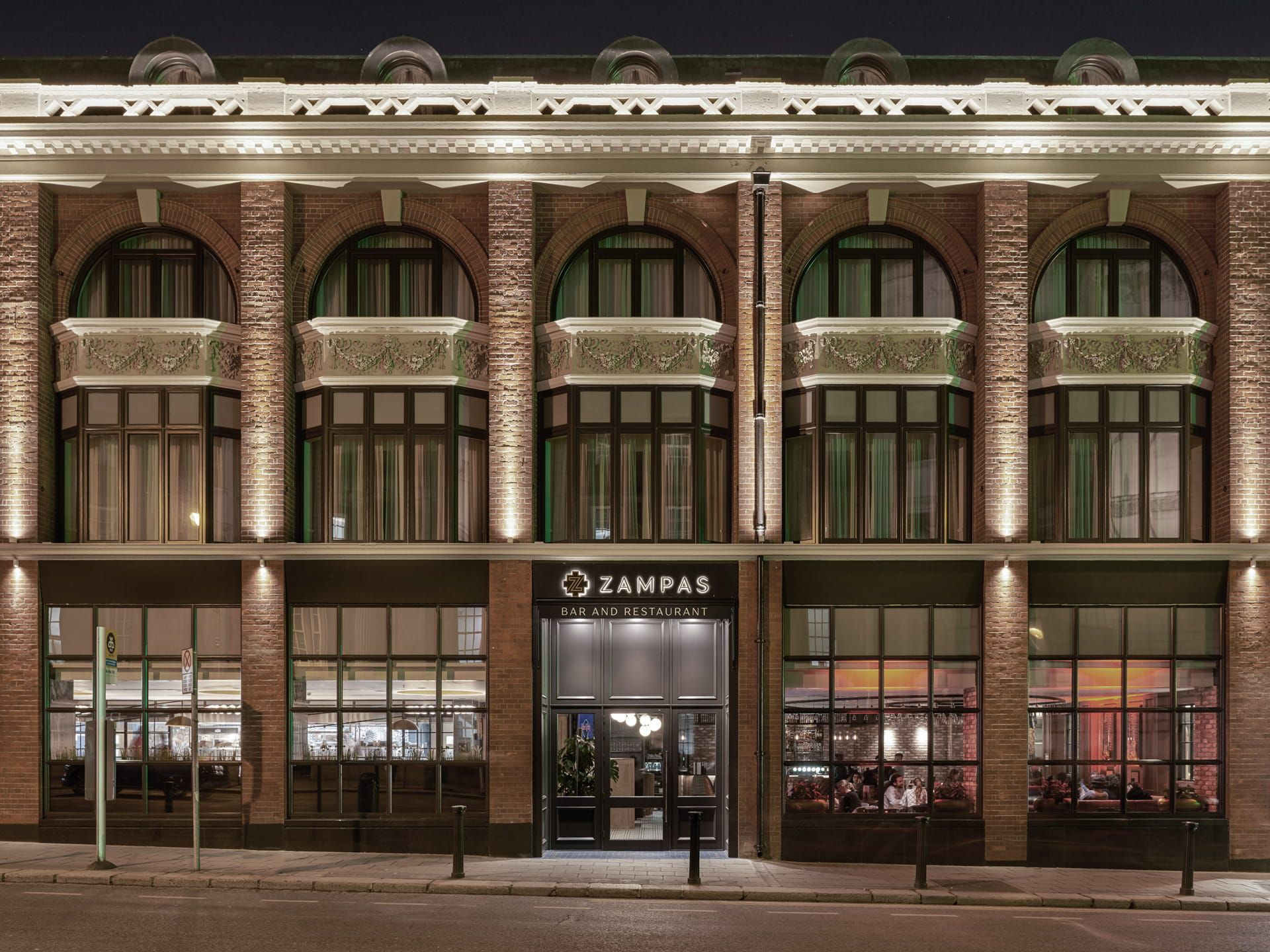 Zampas Restaurant Building
